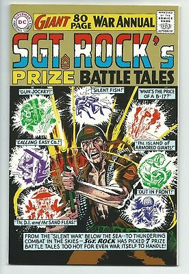 Sgt. Rock's Prize Battle Tales Giant 80 Page War Annual DC Comics