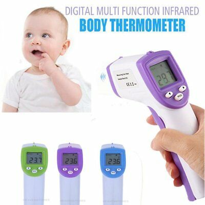 Non-Contact Body Infrared Digital Thermometer Instant Reading LCD Display LOT HZ