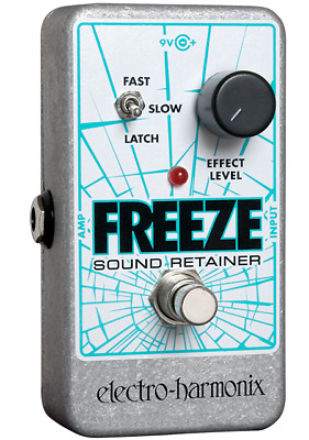 EHX Electro-Harmonix Freeze Sound Retainer Reverb Guitar Effects Pedal