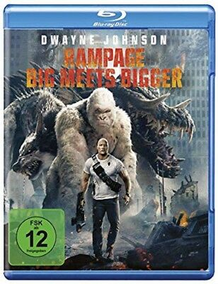 Rampage: Big Meets Bigger Blu-ray NEU OVP Dwayne Johnson
