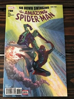 Amazing Spiderman 798 1st Print Alex Ross 1st Appearance Red Goblin Carnage NM