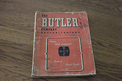 Vintage The Butler Company Indiana Catalog #165 Pumps Feeders Stock Tanks 256pgs