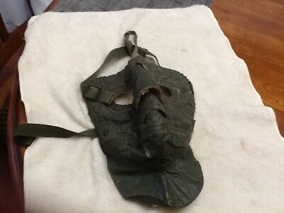 Vintage Extreme Cold Weather Military Face Mask - Olive Green
