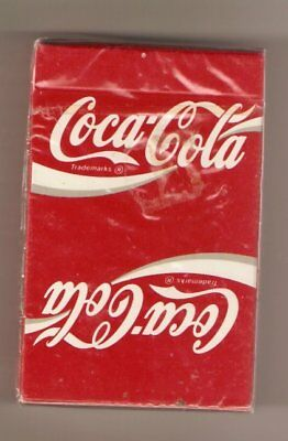 Coca Cola Playing Cards New, Unopened, Sealed