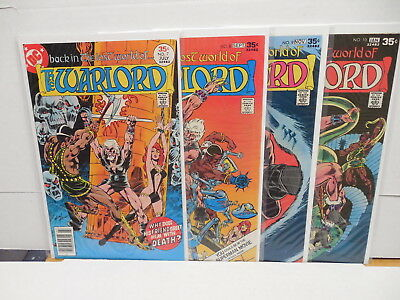 Warlord Bronze Age DC Comic Books 7 8 9 10 Mike Grell Enter The Lost World