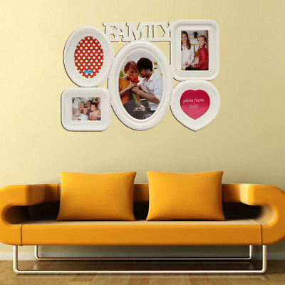 Multi Photoframe Frames Love Family Picture Wall Collage Decor Photo Frame Gift
