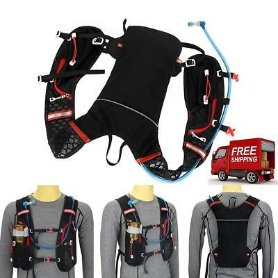 Marathon Running Bicycle Vest Backpack Breathable Hydration Pack Water Bag Sport