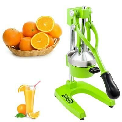 Heavy Duty Commercial Bar Citrus Press Fruit Manual Squeezer Juicer Green