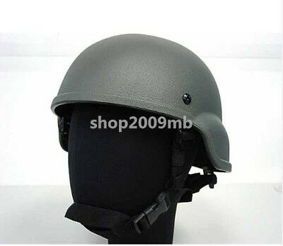Tactical Army Military Airsoft Combat Helmet Plastic ABS ACH MICH 2000 Helmet
