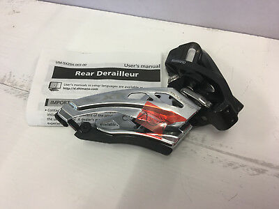 SHIMANO DEORE XT FD-M8020-E Front Pull E-Type MTB 2 X 11-Speed Front