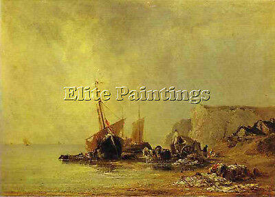 Bonington30 Artist Painting Reproduction Handmade Oil Canvas Repro Wall Art Deco