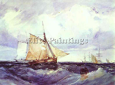 Bonington Artist Painting Reproduction Handmade Oil Canvas Repro Wall Art Deco