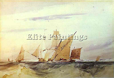 Bonington4 Artist Painting Reproduction Handmade Oil Canvas Repro Wall Art Deco