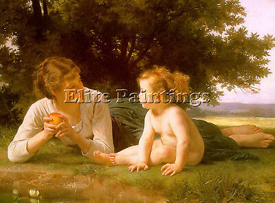 Bouguereau14 Artist Painting Reproduction Handmade Oil Canvas Repro Art Deco