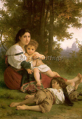 Bouguereau15 Artist Painting Reproduction Handmade Oil Canvas Repro Art Deco