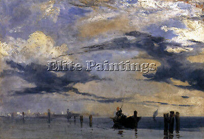 Bonington Richard Parkes Adriatic Artist Painting Reproduction Oil Canvas Repro