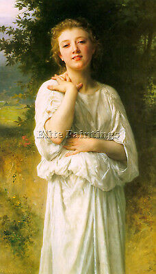 Bouguereau27 Artist Painting Reproduction Handmade Oil Canvas Repro Art Deco