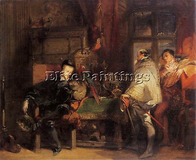 Bonington Richard Parkes Henri Iii Artist Painting Oil Canvas Repro Art Deco