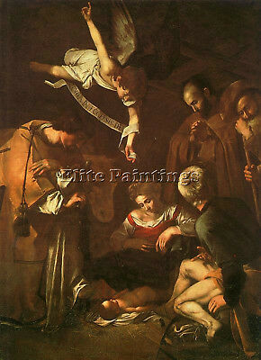 Caravaggio 36 Artist Painting Reproduction Handmade Oil Canvas Repro Art Deco