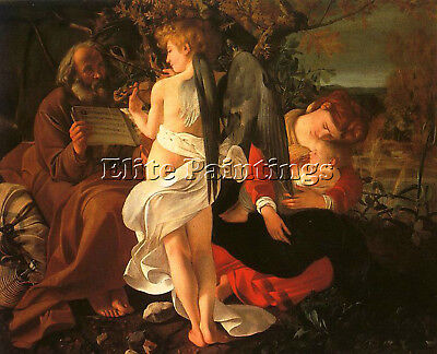 Caravaggio 23 Artist Painting Reproduction Handmade Oil Canvas Repro Art Deco