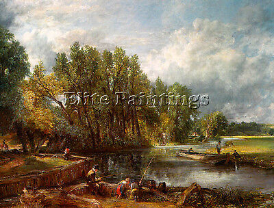 Constable19 Artist Painting Reproduction Handmade Oil Canvas Repro Wall Art Deco