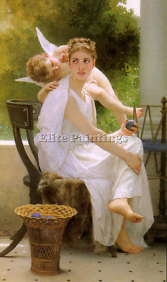 Bouguereau28 Artist Painting Reproduction Handmade Oil Canvas Repro Art Deco