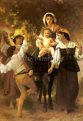 Bouguereau17 Artist Painting Reproduction Handmade Oil Canvas Repro Art Deco