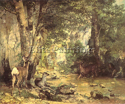 Courbet24 Artist Painting Reproduction Handmade Oil Canvas Repro Wall Art Deco