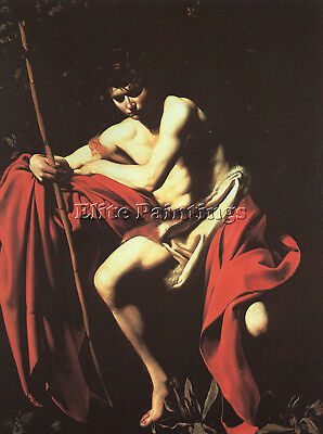 Caravaggio 12 Artist Painting Reproduction Handmade Oil Canvas Repro Art Deco