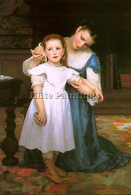Bouguereau29 Artist Painting Reproduction Handmade Oil Canvas Repro Art Deco