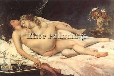 Courbet25 Artist Painting Reproduction Handmade Oil Canvas Repro Wall Art Deco