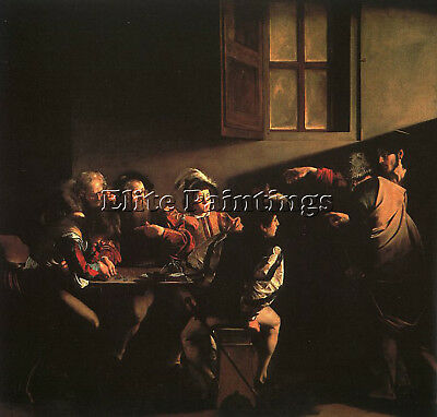 Caravaggio 25 Artist Painting Reproduction Handmade Oil Canvas Repro Art Deco