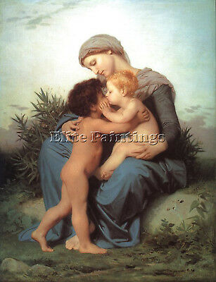 Bouguereau11 Artist Painting Reproduction Handmade Oil Canvas Repro Art Deco