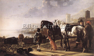 Cuyp Aelbert The Negro Page Artist Painting Reproduction Handmade Oil Canvas
