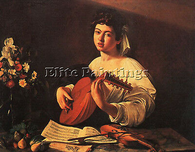 Caravaggio G8 Artist Painting Reproduction Handmade Oil Canvas Repro Art Deco