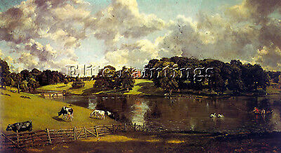 Constable8 Artist Painting Reproduction Handmade Oil Canvas Repro Wall Art Deco