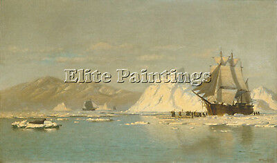 Bradford William Off Greenland Artist Painting Reproduction Handmade Oil Canvas