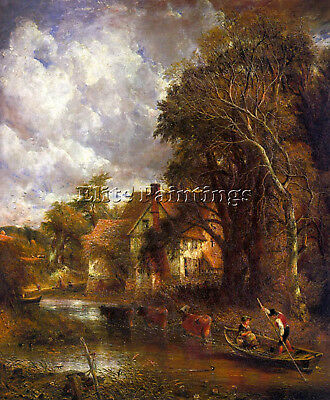 Constable22 Artist Painting Reproduction Handmade Oil Canvas Repro Wall Art Deco