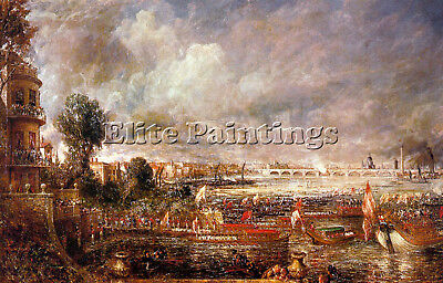 Constable Artist Painting Reproduction Handmade Oil Canvas Repro Wall Art Deco