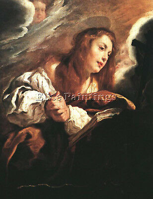Feti Domenico Saint Mary Magdalene Penitent Artist Painting Oil Canvas Repro