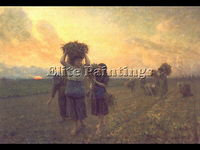 The Last Gleanings Artist Painting Reproduction Handmade Oil Canvas Repro Art