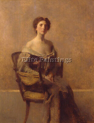 Thomasdewing Womaninpurpleandgreen Artist Painting Oil Canvas Repro Art Deco