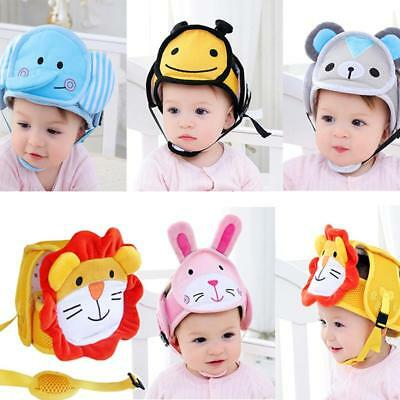 Infant Toddler Safety Helmet Baby Kid Head Protect Hat For Walking Crawl JA