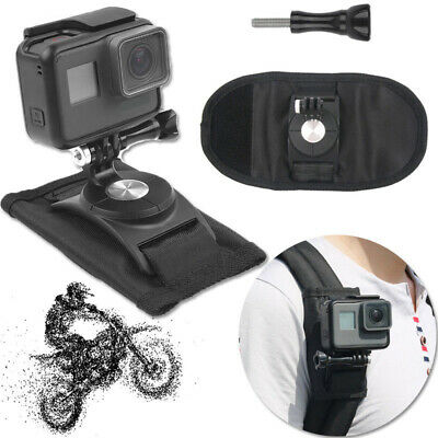 Strap Backpack Mount Bracket Holder For GoPro Hero 4 5 6 Action Camera Accessory
