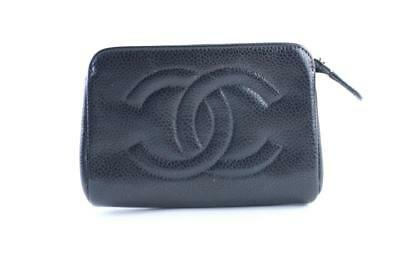 dcdcfec99a9f8c CHANEL CAVIAR CC Logo L-gusset Zip Around Wallet Pink Leather Clutch ...