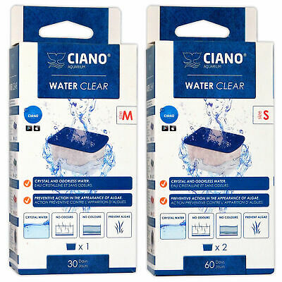 Ciano Water Clear Filter Media Cartridges CF40/CF80/Stone Tartarium Aquarium