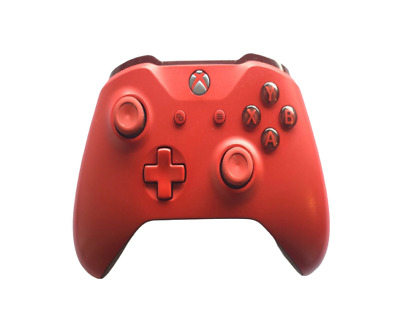 Official Original Genuine Microsoft Xbox One Wireless Controller Red