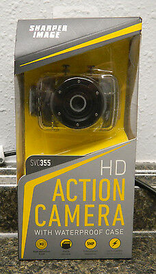 Sharper Image Hd Action Cam Video Camera 1080p Svc430 New 4999