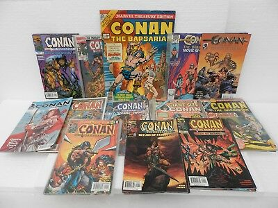 Conan The Barbarian ~ Large Amount of Assorted Comics inc 7 Complete Mini Series