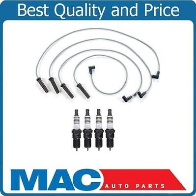 27496 Set of 4 Spark Plug Wires New for Chevy Olds S10 Pickup Cutlass Chevrolet